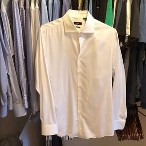 Hugo Boss Sharp Fit Men's Dress Shirt 16.5 34/35